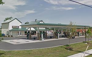 Byrne Dairy gas station in Syracuse, NY